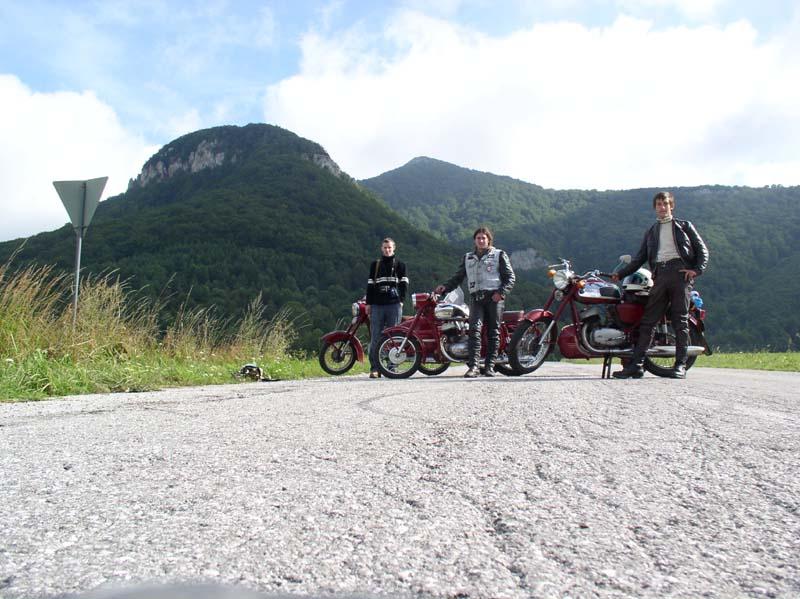 První velkej kopec a my