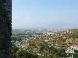 výhled z pevnosti