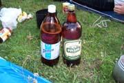 ukrajinské pivo - jedno z nich je jak jarová voda ,jen uz nevím které :-)